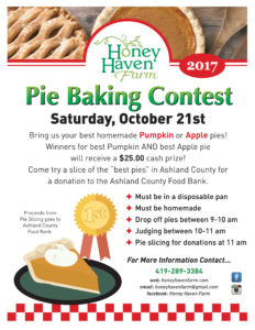 Pie Contest Flyer