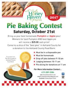 Pie Contest Flyer