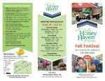 2020 Fall Festival Brochure